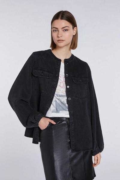 SET Bluse in schwarz, Modelansicht