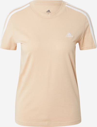 ADIDAS PERFORMANCE Funkčné tričko - púdrová / biela, Produkt