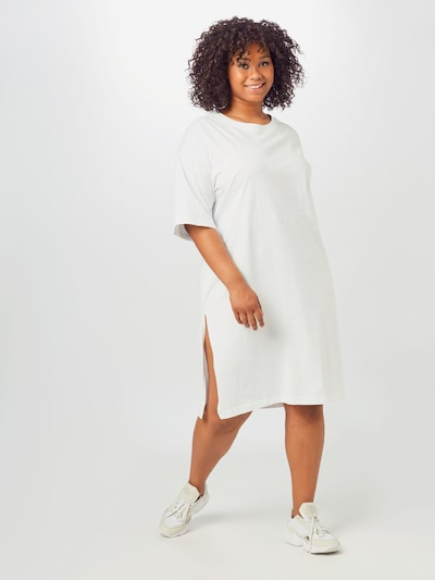 Urban Classics Oversized dress in White, View model