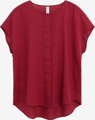 MANGO Bluse `freeman´ in rubinrot, Produktansicht