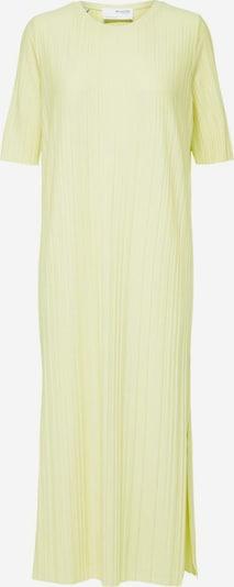 SELECTED FEMME Robe en jaune, Vue avec produit