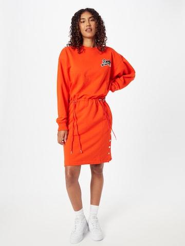 Abito 'C_Eyona_Russell Athletics' di BOSS in arancione