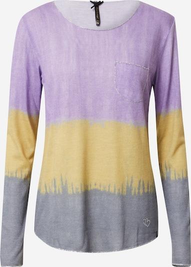 Key Largo T-shirt 'GRAVITY' en jaune / gris / violet, Vue avec produit