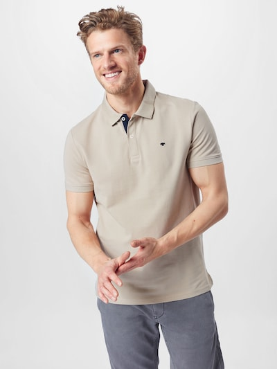 TOM TAILOR Shirt in beige, View model
