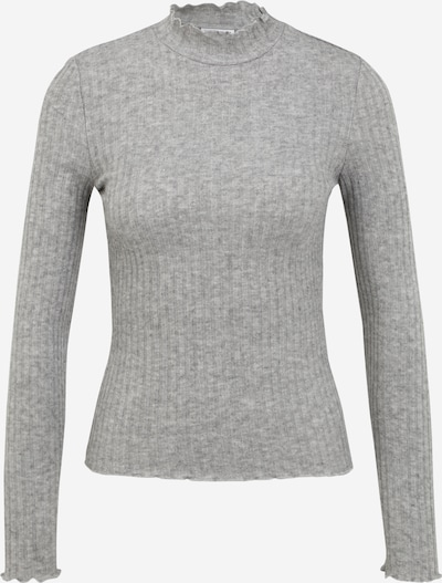 Noisy May Petite Sweater 'BERRY' in mottled grey, Item view