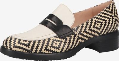 Wonders Schuh in beige / hellbeige / schwarz, Produktansicht