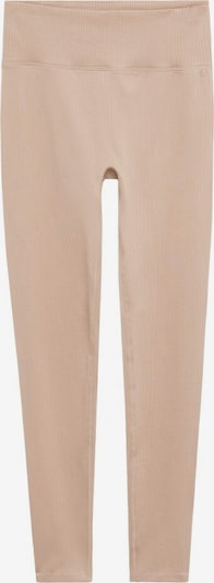 MANGO Leggings in nude, Produktansicht