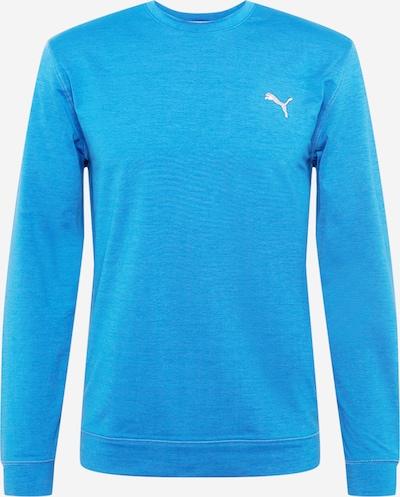 PUMA Sportiska tipa džemperis zilgans / balts, Preces skats