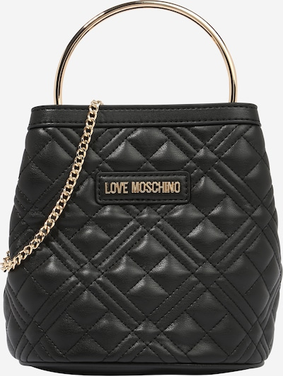 Poșete Love Moschino pe negru, Vizualizare produs