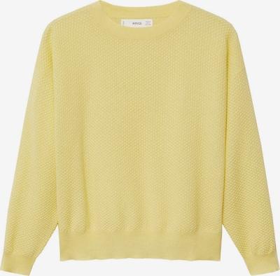 MANGO Pullover in gelb, Produktansicht