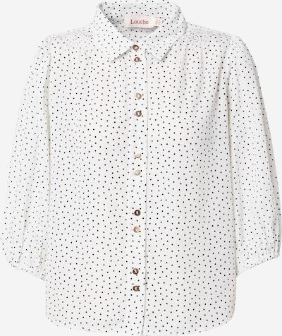 Bluză 'ROSMARINE' Louche pe negru / alb, Vizualizare produs