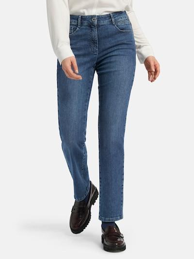 Basler Jeans 'Norma' in blau, Modelansicht