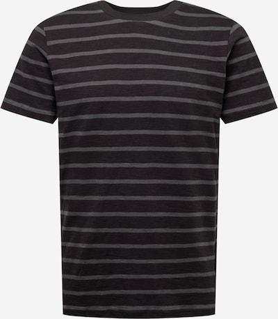 Tricou 'Scott' By Garment Makers pe gri închis / negru, Vizualizare produs