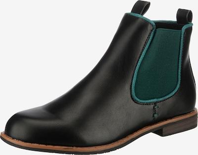 ambellis Stiefelette in dunkelgrün, Produktansicht