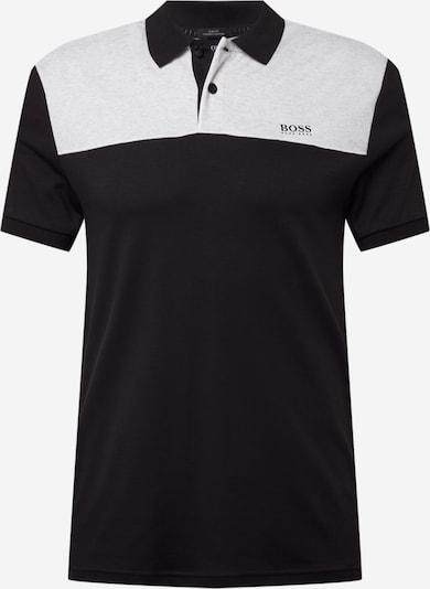 BOSS ATHLEISURE Тениска 'Paule 1' в светлосиво / черно, Преглед на продукта