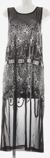 Nasty Gal Jerseykleid in M in schwarz / silber, Produktansicht