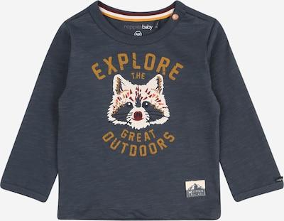 Noppies Shirt 'Koffiebaai' in marine / orange / weiß, Produktansicht