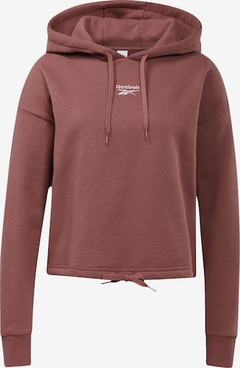 Reebok Classic Sweat-shirt 'Foundation' en rouge pastel, Vue avec produit