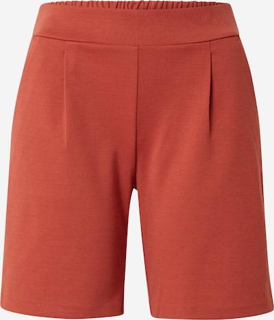ICHI Shorts in rostrot, Produktansicht