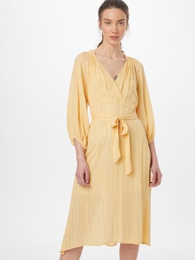 Traffic People Kleid in pastellgelb, Modelansicht