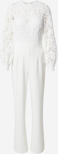 Little Mistress Jumpsuit in weiß, Produktansicht