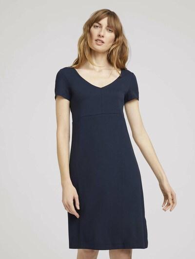TOM TAILOR Obleka | temno modra barva, Prikaz modela
