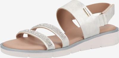 SCAPA Sandale in silber, Produktansicht