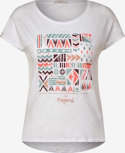 CECIL T-Shirt mit Ethno-Print in weiß, Produktansicht