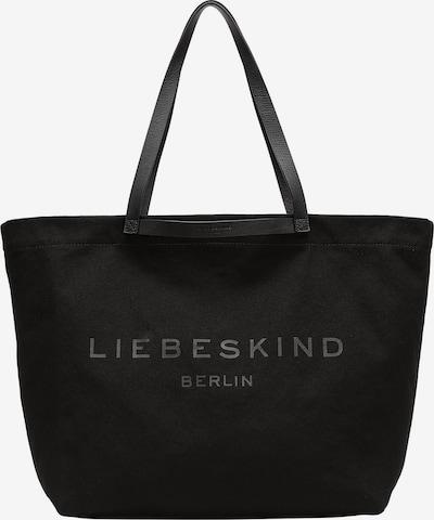 Liebeskind Berlin Shopper 'Aurora' in grau / schwarz, Produktansicht