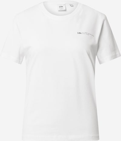 10k Shirt in White, Item view