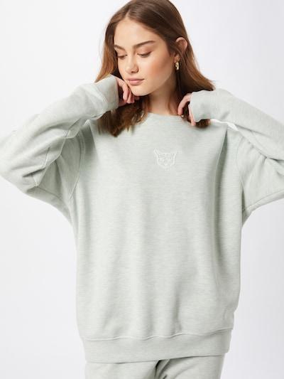 PARI Sweatshirt in mint, Modelansicht