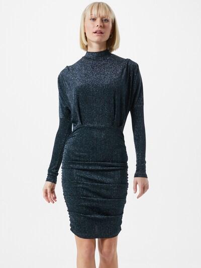 AX Paris Kleid in dunkelblau / silber, Modelansicht