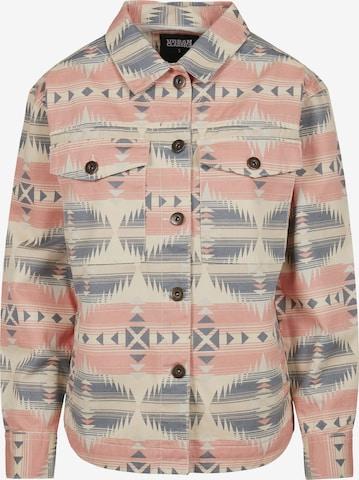Urban Classics Between-Season Jacket 'Inka' in Pink