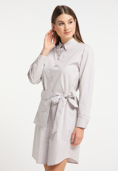 MYMO Blusenkleid in hellgrau, Modelansicht