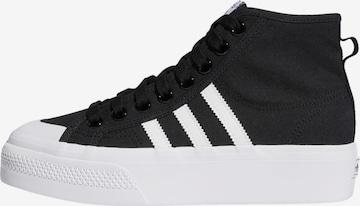 ADIDAS ORIGINALS High-Top Sneakers 'Nizza' in Black