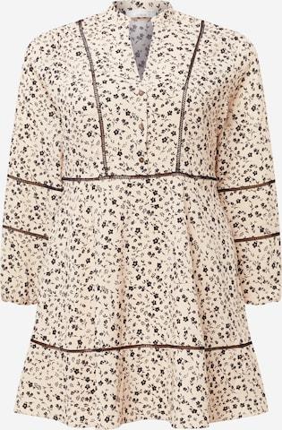 Guido Maria Kretschmer Curvy Collection Kleid 'Mala' in Beige