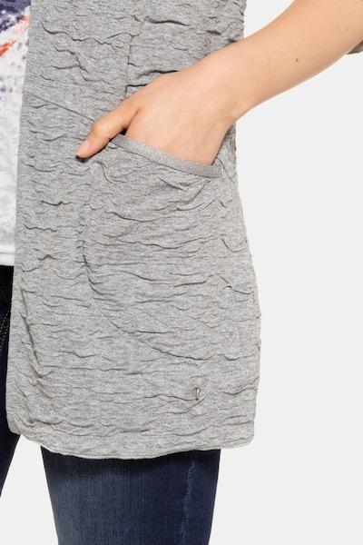 Gina Laura Gina Laura Damen Sweatjacke in grau, Produktansicht