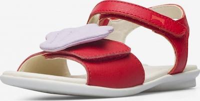 CAMPER Sandale in flieder / rotmeliert, Produktansicht