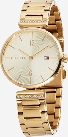 TOMMY HILFIGER Analog watch 'Dressed Up' in gold, Item view