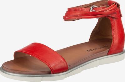Mirapodo Sandale in rot, Produktansicht