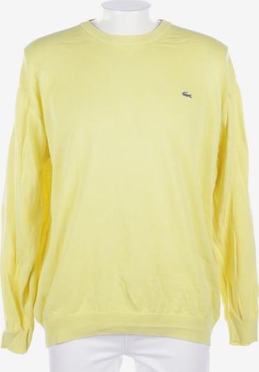 LACOSTE Pullover / Strickjacke in XXXL in gelb, Produktansicht