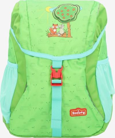 Scouty Rugzak in de kleur Groen, Productweergave
