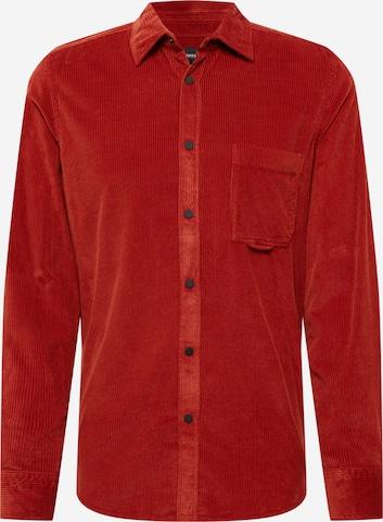 BOSS Casual Hemd 'Riou' in Rot