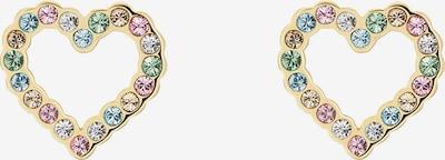Ted Baker Oorbellen 'LEENAH' in de kleur Beige / Lichtblauw / Goud / Groen / Rosa, Productweergave