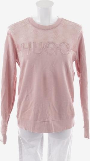 HUGO Sweatshirt / Sweatjacke in M in puder, Produktansicht