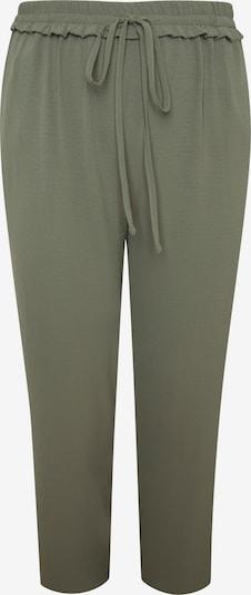 SPGWOMAN Hose in braun / khaki / dunkelgrün, Produktansicht