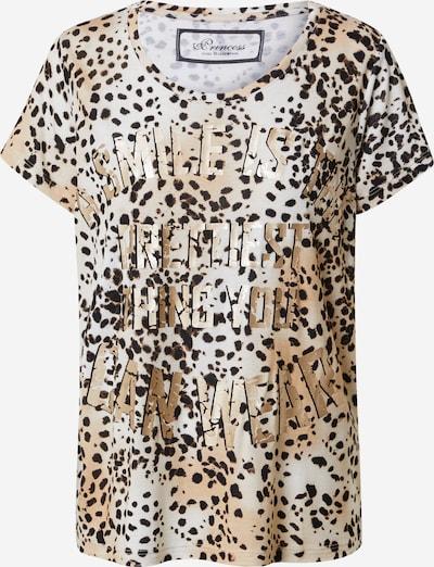 PRINCESS GOES HOLLYWOOD T-Shirt in beige / braun / dunkelbraun / schwarz, Produktansicht