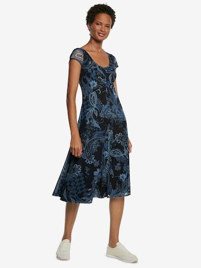 Desigual Kleid 'CAPRI' in blau / dunkelblau, Modelansicht