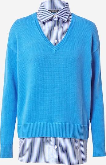 Lauren Ralph Lauren Пуловер 'PERDYTA' в синьо / бяло, Преглед на продукта