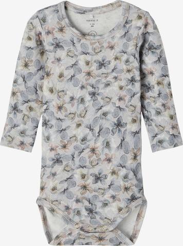 NAME IT Romper/bodysuit 'Nille' in Grey
